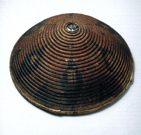 Asian wicker shield